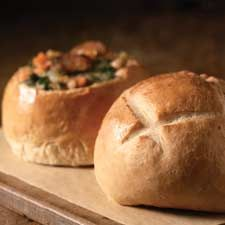 This looks so good and easy. Like it that you can start it the evening before, then finish it up the next day. - May try making 2 large loaves and see if I get a good crusty artisan-type bread.