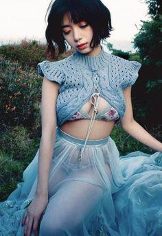 Japanese Models, Model Photos, Asian Fashion, Malta, Cute Girls, Crochet Top, Tumblr, Lingerie, Actresses