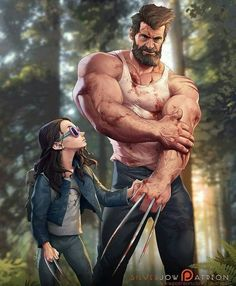 One of the best #logan art pieces I've seen By @silverjow #LonganMovie #fanart #x23