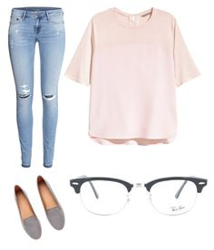school days by alyssaforeva on Polyvore featuring Ray-Ban Clubmaster Prescription Glasses available at SelectSpecs