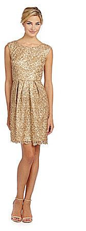 All that glitters is gold... Night time wedding bridesmaid dresses ...