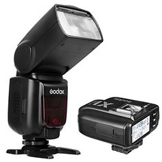 Godox TT685S Camera Flash Speedlite TTL Autoflash Speedlight 24G High Speed 18000s GN60  X1TS TTL Wireless Transmitter Flash Trigger for Sony Cameras with MI Shoe TT685S  X1TS ** Be sure to check out this helpful article. #DigitalCameras #SonyCamera