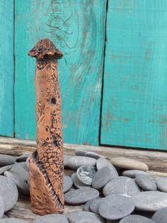 Miniature magic fairy tower - OOAK ceramic mini castle house... might be haunted!