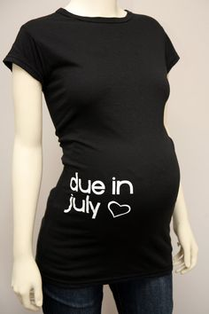 such a cute idea! http://www.etsy.com/listing/80027861/free-shipping-due-date-tee-due-in-july?ref=fp_ph_4&src=favitm