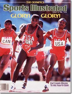 Carl Lewis / Sports Illustrated (1984)