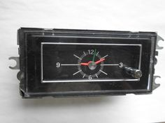 1971-1973 Ford Mustang/Mercury Cougar Console Clock - Serviced and Working with a 30 Day Guarantee + FREE Shipping - $89.88
