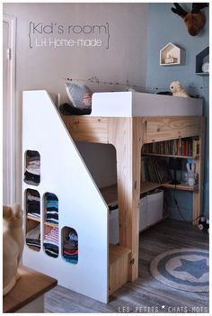 1000 images about inspirations chambre enfants on pinterest bunk beds boys tree hut and. Black Bedroom Furniture Sets. Home Design Ideas