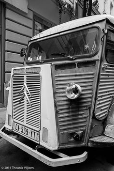 Citroen H Van - II Citroen Van, Citroen Type H, Tubs, Planes, Trains, Vw, Camper, Automobile, French