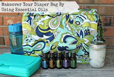 Makeover your diaper bag by using essential oils - simple ways to make a big difference!