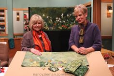 Beginning landscape Quilting Natalie Sewell and Nancy Zieman