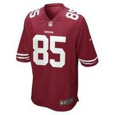 Nike NFL San Francisco 49ers (Vernon Davis) Men's Football Home Game Jersey - Gym Red  $100.00