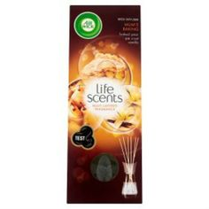 Air Wick Life Scents Reed Diffuser Air Freshener Mum's Baking 30ml Case of 4 - http://domesticcleaningsupplies.co.uk/product/air-wick-life-scents-reed-diffuser-air-freshener-mums-baking-30ml-case-of-4/