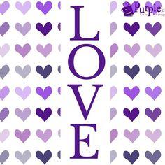 Love all things purple!
