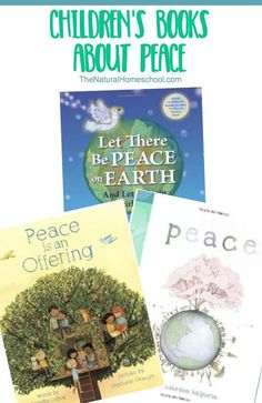 Peace books for children are wonderful because they do the thinking for us. We can gathered this list of suggested books and read one per night before bed so they can spark conversations about peace and they can help children understand peace better and m