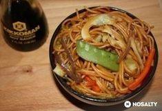 Pirított tészta Asian Recipes, Ethnic Recipes, Japchae, Spaghetti, Food And Drink, Food, Recipes, Asian Food Recipes, Noodle