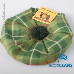 Galloway Tartan Child's Tam. Free worldwide shipping available