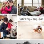 Posing Ideas for Dads and Kids {Father's Day Posing Guide}
