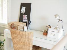 Aula, työpiste sisustus  My little working space.. >  www.tohkeissaan.fi