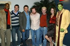 Gun, Wesley, Angel, Joss, Spike, Fred, and Lorne.