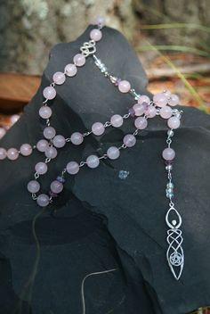 ☆ Rose Celtic Goddess Beads :¦: By Artist Ashley Bryner ☆