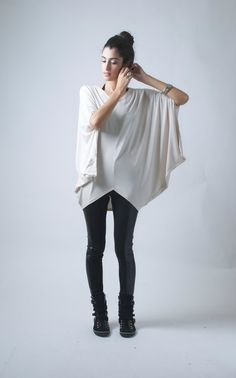 Hey, I found this really awesome Etsy listing at http://www.etsy.com/listing/165826738/oversize-asymmetric-tunic-short-kaftan