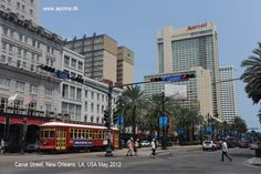Canal Street, New Orleans, LA, USA May 2012