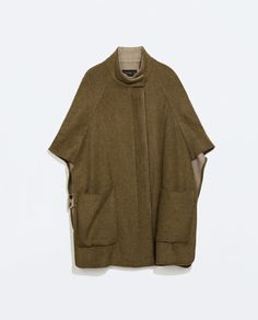 DOUBLE-SIDED CAPE from Zara