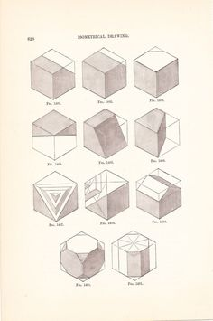 1886 Technical Drawing - Antique Math Geometric Mechanical Drafting Interior…