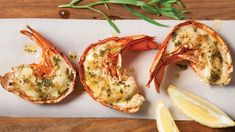 Top view of grilled lobster tails with lemon tarragon but , Grilled lobster tails. Top view of grilled lobster tails with lemon tarragon but , # Grilled Lobster, Lobster Meat, How To Cook Lobster, Live Maine Lobster, Cooking Lobster Tails, Frozen Lobster, Lobster Shack, Champagne, Lobster Recipes