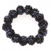 Retired - Twin Bead Beaded Bead Stretch Bracelet