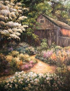 springtime acrylic paintings - Google Search