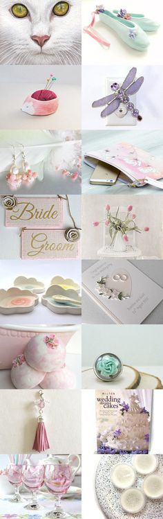 Pastel Pretties by Marilyn on Etsy--Pinned with TreasuryPin.com