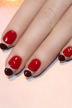 Pin for Later: A Modern Nail Art DIY That Even Your Mom Will Adore                                                                                                                                                                                 More