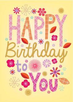 Happy Birthday to You! ☀️