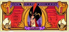 Images of Jafar from Aladdin. Arte Disney, Disney Magic, Disney Art, Disney Pixar, Disney Crafts, Disney Dream, Disney Money, Disney Stained Glass, Disney Rooms
