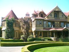 The haunted Winchester House, San Jose CA.