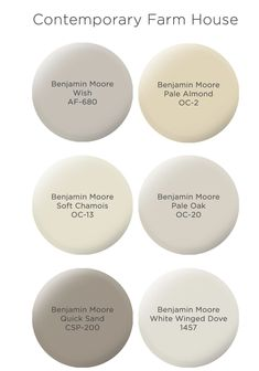 just looking a picture is not enough, visit my website to see more about Farmhouse Paint Colors by Benjamin Moore. Taupe Paint Colors, Indoor Paint Colors, Farmhouse Paint Colors, Paint Color Schemes, Bathroom Paint Colors, Kitchen Paint Colors, Exterior Paint Colors, Paint Colors For Home, Gray Paint