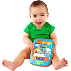 For my grandson.   Bright Starts - Lights and Sounds FunPad