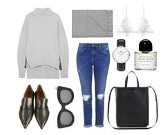 """""""Casual days."""" by basic-appeal ❤ liked on Polyvore featuring Jil Sander, Topshop, CÉLINE, Acne Studios, Daniel Wellington, For Love & Lemons, Byredo, women's clothing, women and female"""
