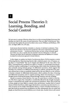 theories of cultural criminology This section of the report looks at rational choice theory and one of  rational  choice theory is based on the fundamental tenets of classical criminology,  for  people who lived within a street culture that emphasizes living for.