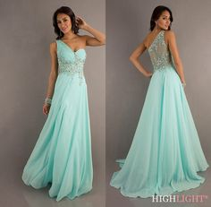 Mint Beaded Evening Pageant Party Cocktail Prom Dress Ball Gown Sz 6 8 10 12 14 | eBay