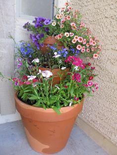E9d31da403e4ceb6641501bd483a7ab9 480×640 Pixels. Stacked Flower  PotsGarden ...