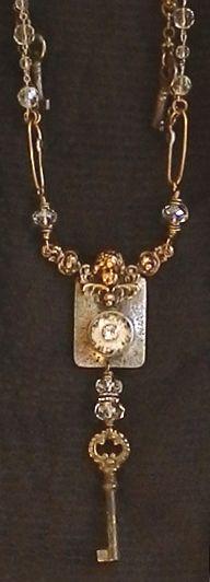 ✿ڿڰۣ(̆̃̃•Aussiegirl  Vintage  necklace