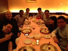 Out to dinner in Beijing with Jason Kilar