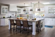 Light Transitional Kitchen by Phil Norman on HomePortfolio