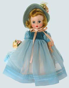 "RARE - MINT - ALL ORIG 8"" 1954 ""BLUE DANUBE"" MADAME ALEXANDER -ALEXANDERKINS   eBay"