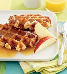 Apple Cider Sauce  From: Family Circle  This spiced sauce takes only 15 minutes to make. Whip it up the next time you bake a batch of waffles for breakfast.