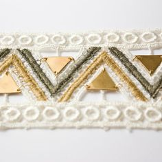 I love this cuff!!!!!!!!!  Zia Aquarius  lace and brass bracelet by thisilk on Etsy