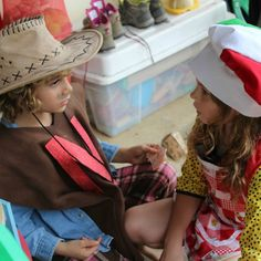 Dress Ups being conducted in Spanish, English & Italian