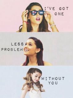 Day 13 (Guilty Pleasure Song): Okay, I also am not an Arianator, but I think Problem by Ariana Grande ft. Iggy Azalea is catchy.